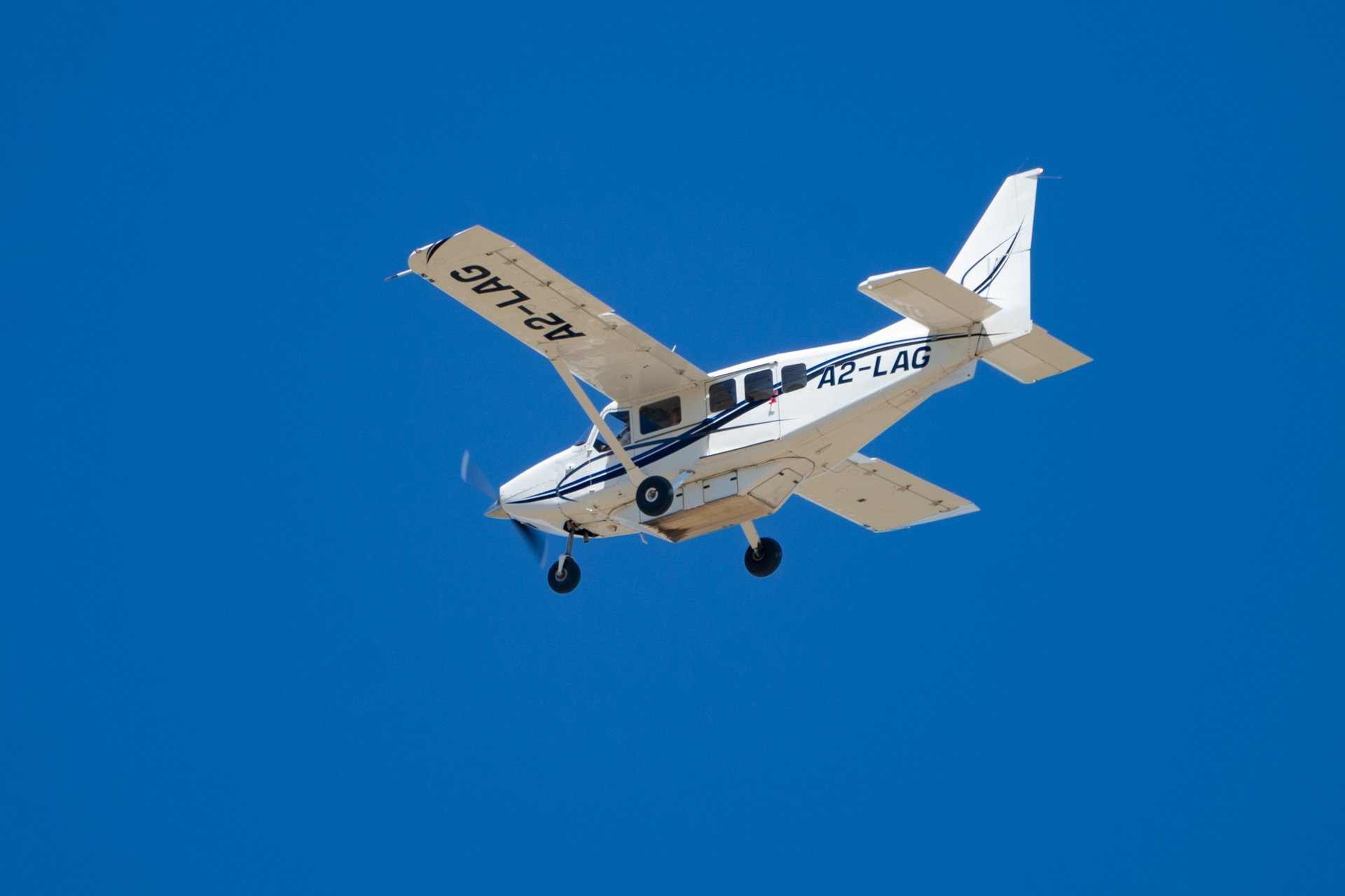 Plane to Maun